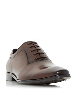 Rancho embossed detail oxford shoes