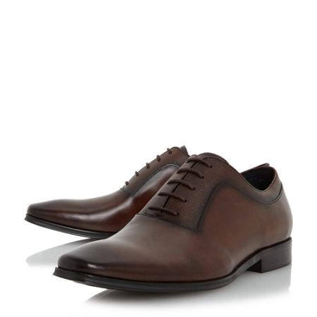 Dune Rancho embossed detail oxford shoes