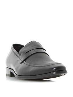 Recruit saffiano vamp loafer shoes