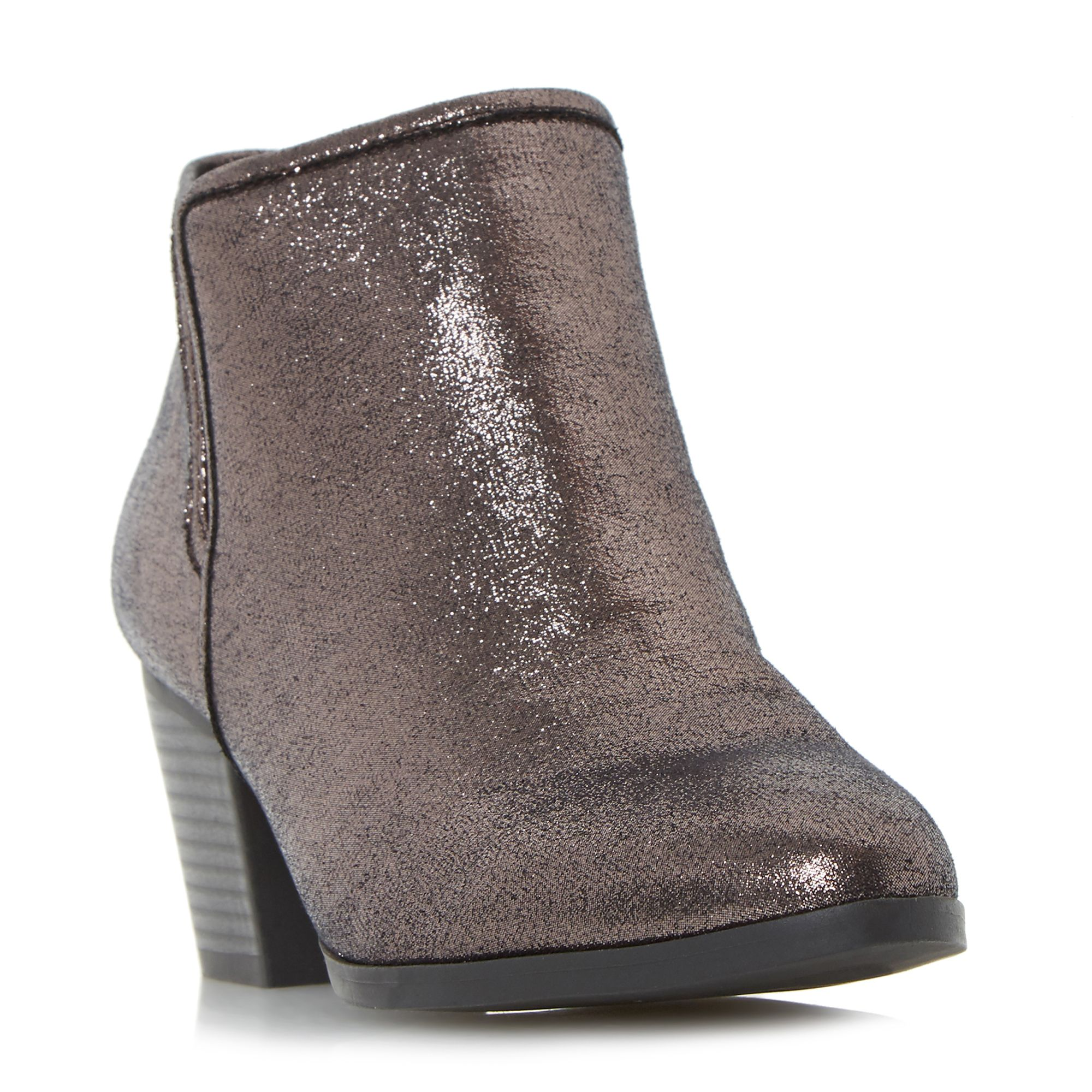 Head Over Heels Peta elasticated insert ankle boots Pewter