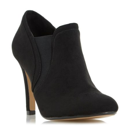 Head Over Heels Octavia elasticated insert heeled ankle boots