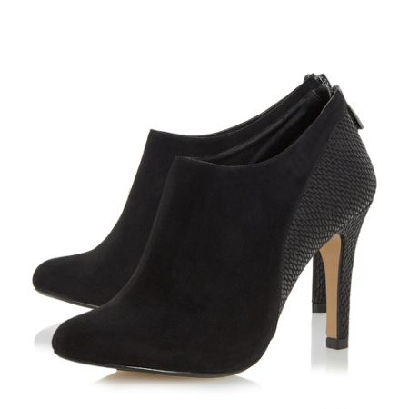 Head Over Heels Opera mixed material heeled ankle boots