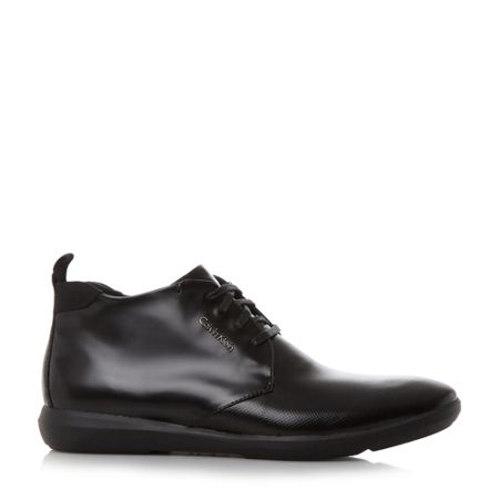 Calvin Klein Zeb wedge formal chukka boots