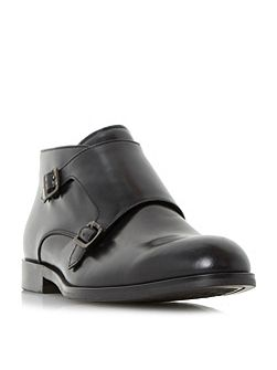Mason double buckled monk shoes