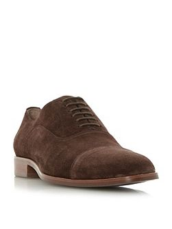 Runyon Natural Sole Suede Oxford Shoes
