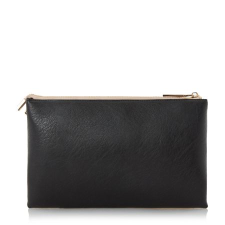 Dune Engellie removable pouch clutch bag