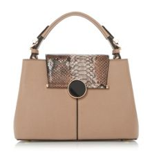 Dune Dorrian circular lock day bag