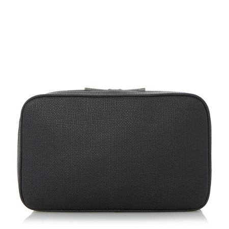 Dune Perrott textured double zip wash bag