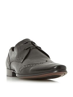 Radar wingtip detail lace up shoes