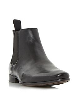 Misfit almond toe chelsea boots