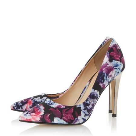 Head Over Heels Addyson high heel court shoes