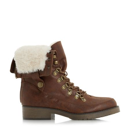 Head Over Heels Rollo lace up hiker boots