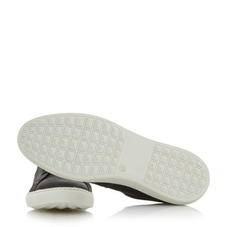 Dune Twister lace cupsole trainers