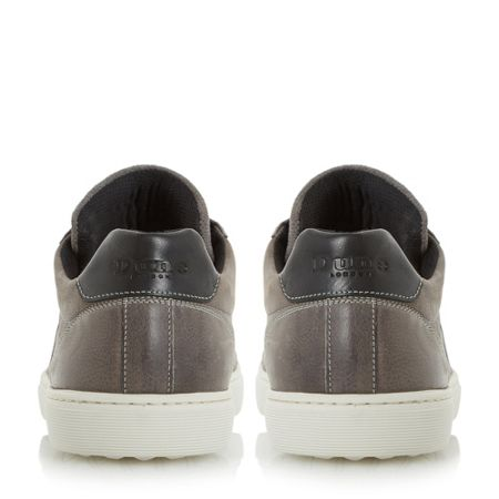 Dune Twister Lace Up Cupsole Trainers