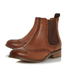 Dune W quenton brogue chelsea boots