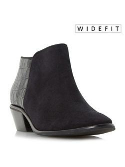 W parrson stacked heel ankle boots