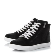 Steve Madden Earnst lace up high top trainers