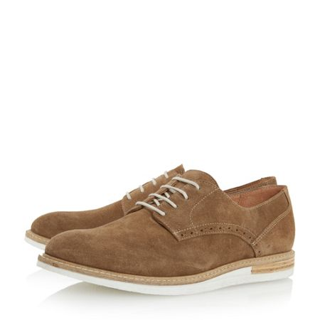 Dune Boxpark venerr wedge gibson shoes