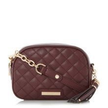 Dune Dettian tassel quilted cross body bag