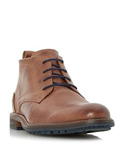 Chipper cleated sole chukka boots