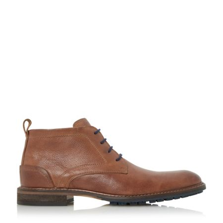 Dune Chipper cleated sole chukka boots