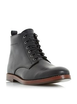 Campbell leather lace up boots