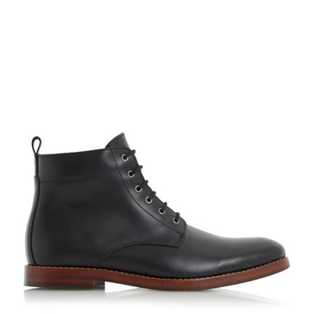 Dune Campbell leather lace up boots
