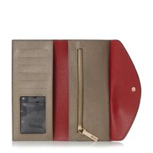 Dune Kandice slim foldover purse