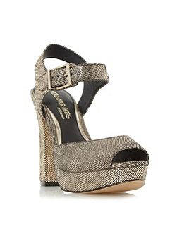 Myli two part platform sandals