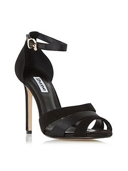 Magpie caged front high heel sandals