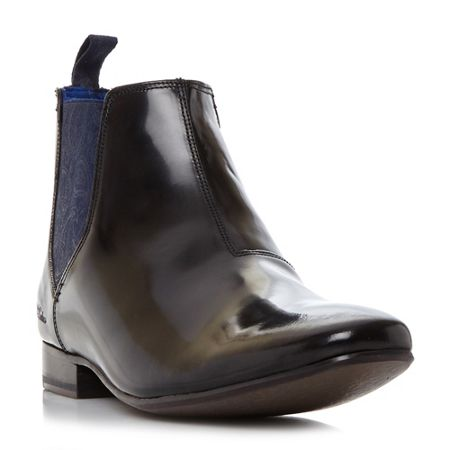 Ted Baker Hourb 2 high shine chelsea boots
