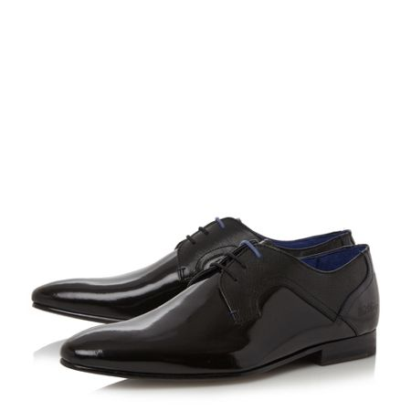 Ted Baker Pelton embossed panel derby shoe