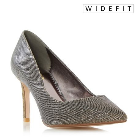 Dune Abbigail pointed toe court shoes