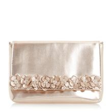 Dune Bouquet flower embellished clutch bag