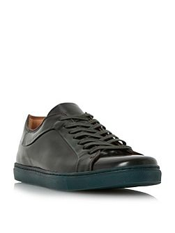 Tyrese high shine cupsole trainers
