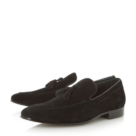 Dune Rolands Chisel toe Tassel Loafers