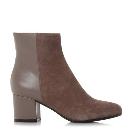 Dune Black Orsen classic leather ankle boots