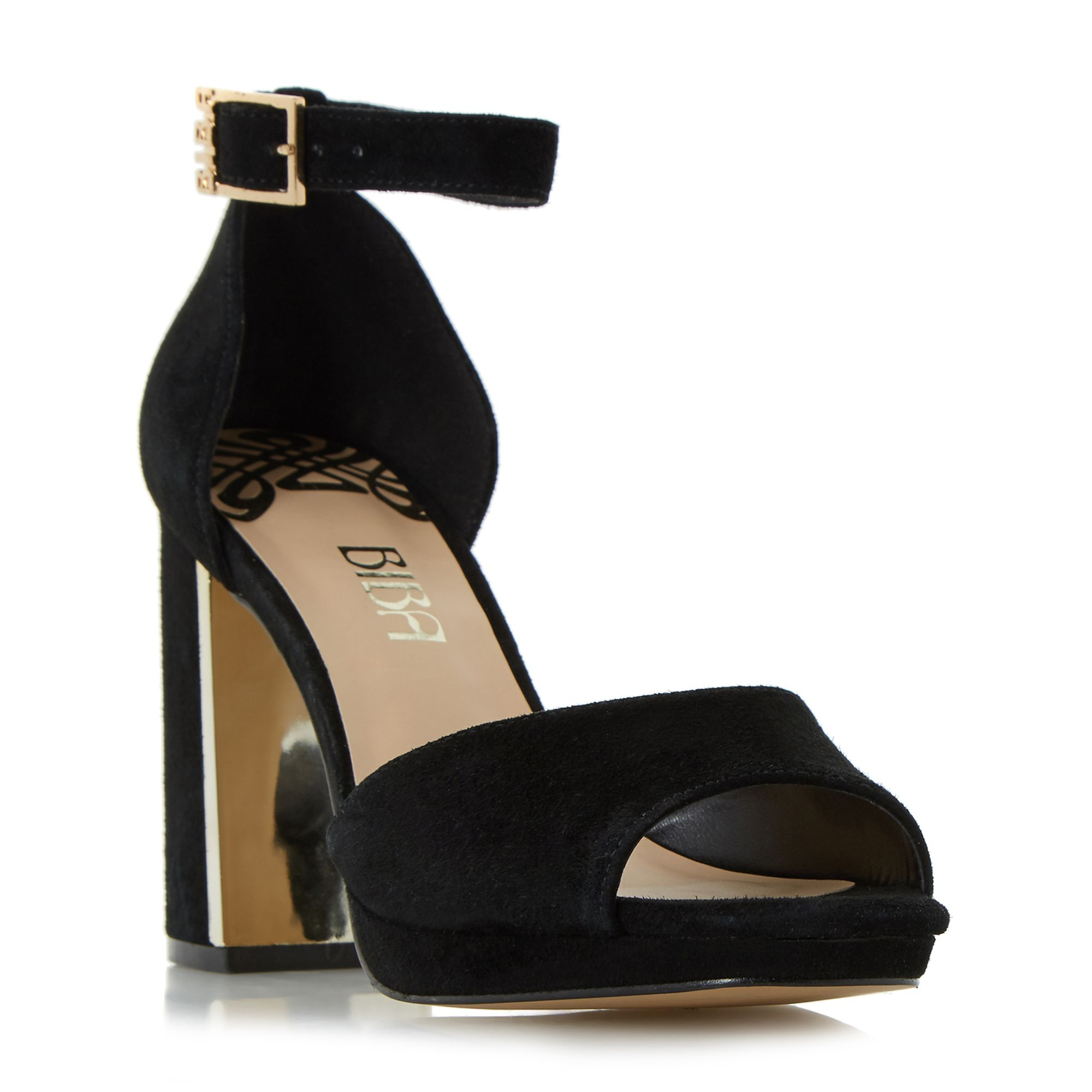 Biba Biba Mable platform dressy sandals, Black