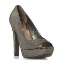 Head Over Heels Cadenza peep toe platform courts