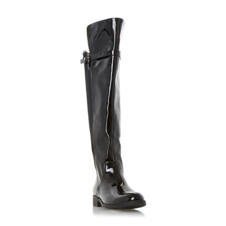 Head Over Heels Tamara stretch back over the knee boots