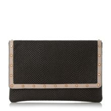 Dune Bairo studded envelope clutch bag