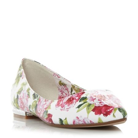 Dune Harmonie pointed flat shoes