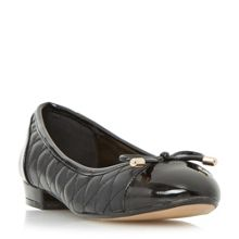 Linea Helina quilted ballerina pumps