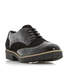 Dune Faune cleat sole lace up shoes