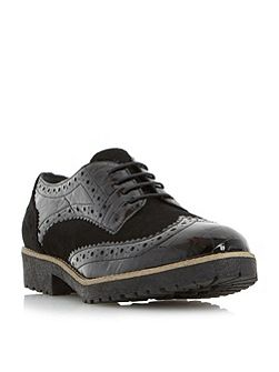 Faune cleat sole lace up brogues