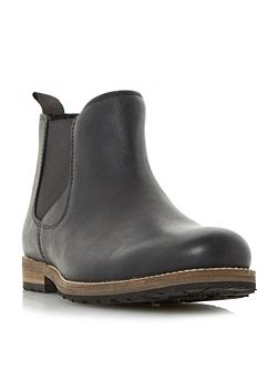 Catfish cleated sole chelsea boots