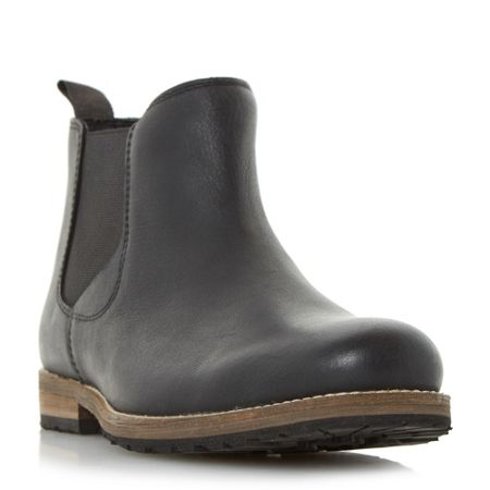 Howick Catfish cleated sole chelsea boots