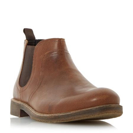 Howick Cattle leather chelsea boots