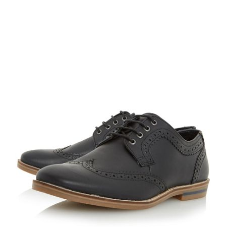 Howick Beets casual lace up brogue shoes