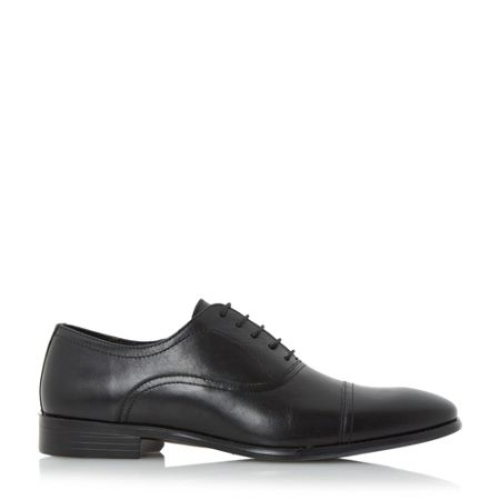 Howick Ripler toe cap detail oxford shoes